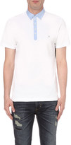 Diesel T-angier cotton polo shirt