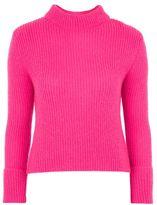 Topshop Lofty turnback cuff knitted jumper