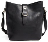 Frye Amy Leather Crossbody Bag - Black
