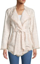 DOLCE CABO Wrapped Tweed Jacket