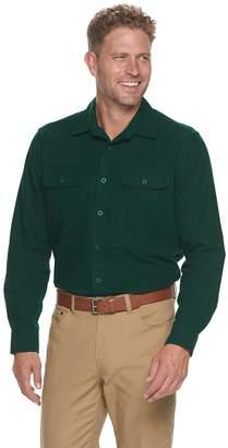 Croft & Barrow Men's Extra Soft Chamois Woven Shirt