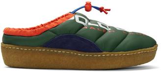 Polo Ralph Lauren Green Myles Puffer Loafers