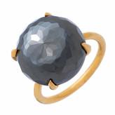Heather Hawkins Radiate Gemstone Ring - Hematite