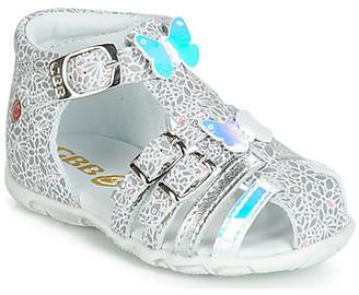 GBB RIVIERA girls's Sandals in Silver