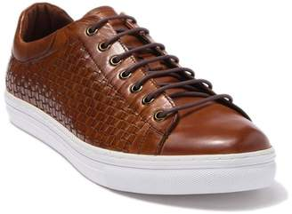 Zanzara Pop Woven Leather Sneaker