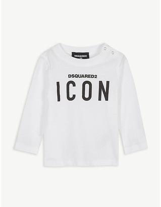 DSQUARED2 Icon logo cotton top 3-36 months