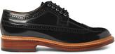 Grenson Sid Polished-Leather Wingtip Brogues