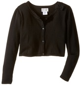 Us Angels Bow w/ Scalloped Edge Cardigan (Big Kids)