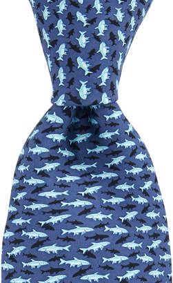 Vineyard Vines Fish With Shadow Printed Tie
