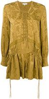 IRO lace up jumpsuit - women - Silk/Polyamide - 36