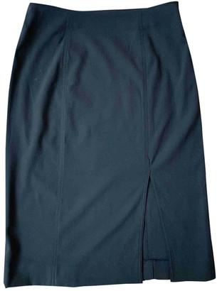Christian Dior Black Wool Skirts