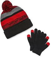 Weatherproof Beanie & Glove Set - Boys Big Kid