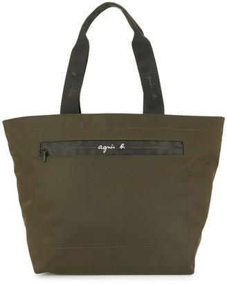 agnès b. Zipped Technical Tote Bag