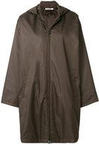 Jil Sander cape style parka coat
