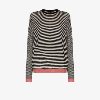 Ann Demeulemeester striped wool sweater