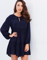 DECJUBA Piper Tiered Peasant Dress