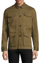 Officine Generale Travis Solid Regular-Fit Jacket