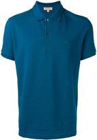 Burberry plain polo shirt - men - Cotton - XXL