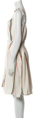 Paper London Silk Midi Length Dress Silk Midi Length Dress