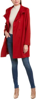 Sofia Cashmere sofiacashmere Sofiacashmere Wool-Blend Coat