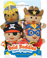 Melissa & Doug Kids' Bold Buddies Adventure Set Hand Puppets
