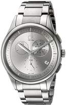 Calvin Klein Men's Quartz Watch with Black Dial AnalogueDisplay and Stainless Steel Black - K2A27920