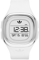 adidas 'Denver' Digital Silicone Strap Watch, 42Mm