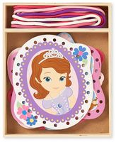 Melissa & Doug Disney Sofia the First Wooden Lacing Cards by