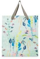 Oliver Bonas Large Floral Sketch Gift Bag