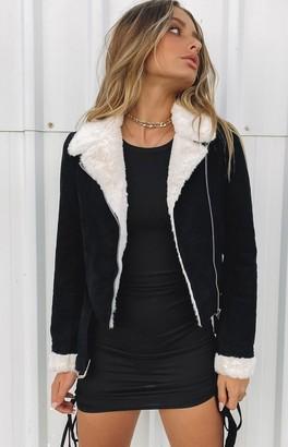 Bb Exclusive Gabbie Cord Jacket Black