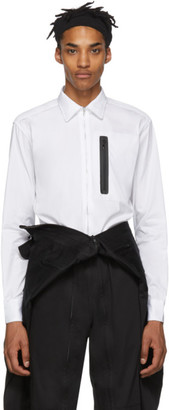 Random Identities White Zip-Up Shirt