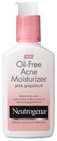 Neutrogena Oil-Free Acne Moisturizer Pink Grapefruit - 4 oz