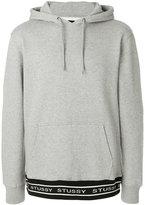 Stussy logo hem hoodie