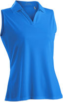 Asstd National Brand Nancy Lopez Golf Luster Sleeveless Polo