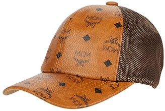 MCM Collection Baseball Cap (Cognac) Caps