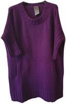 Laneus Purple Wool Knitwear for Women