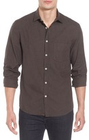 Billy Reid Men's John T Standard Fit Herringbone Shirt