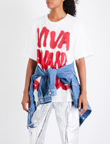 Jeremy Scott Viva Avant Garde cotton-jersey T-shirt