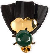 Marni Horn brooch