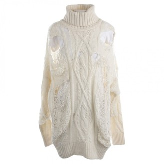 Faith Connexion White Wool Knitwear for Women