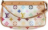 Louis Vuitton Pochette Accessoire cloth clutch bag