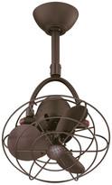 Matthews Fan Diane Oscillating Directional Ceiling Fan, Textured Bronze