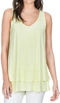 Lilla P Soft-Draped Double-Layer Tank Top (For Women)