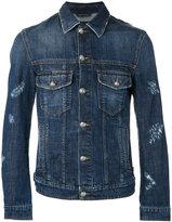 Philipp Plein denim jacket - men - Cotton/Polyester - XL