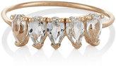 Loren Stewart Women's White-Topaz Ring