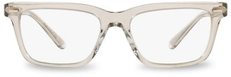 Oliver Peoples 52MM Rectangular Clear Lens Glasses