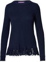 Ralph Lauren Fringed Cashmere Sweater