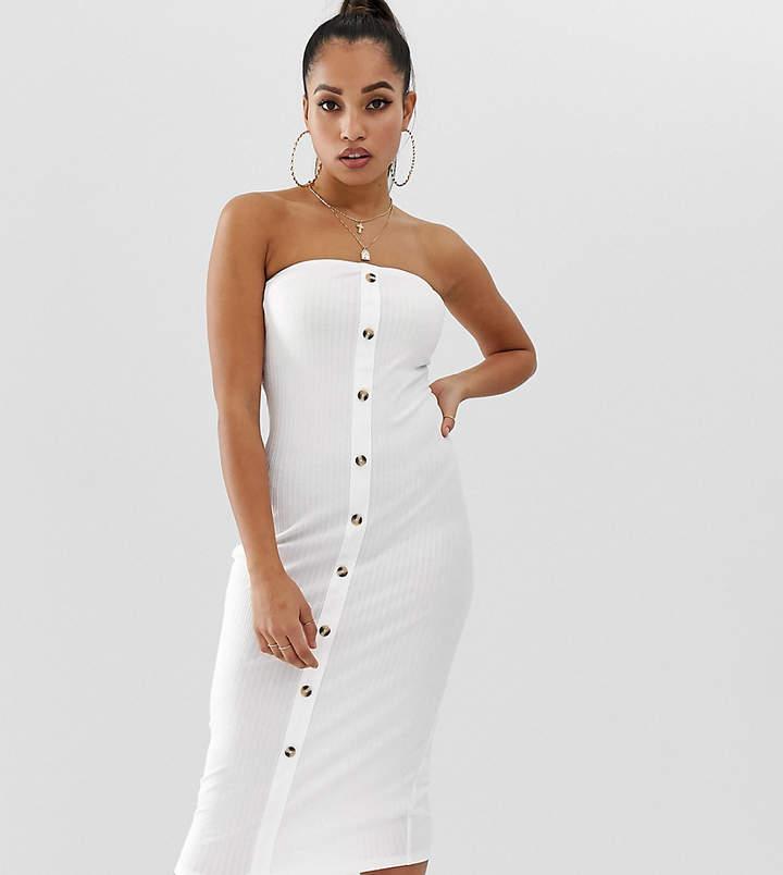 0d45ccc10f White Bandeau Dress - ShopStyle Canada