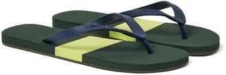 Orlebar Brown Haston Colour-Block Rubber Flip Flops