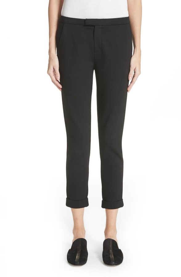 Joie Shawnta Cuffed Crop Pants